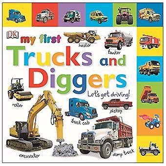 Min första lastbilar och grävmaskiner: Låt oss få bil! (DK min första styrelsen böcker)