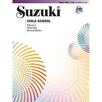 Suzuki Alto école, Vol 5: Partie d'Alto, livre & CD