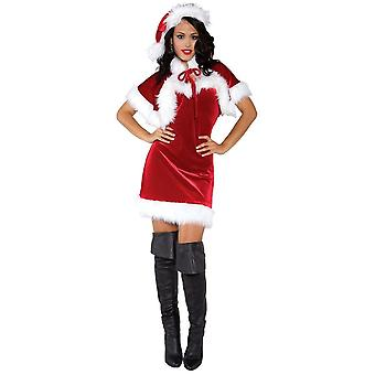 Santa Claus Female Adult Costume