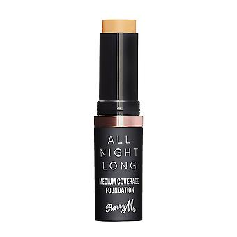 Barry M All Night Medium Coverage Foundation - Almond