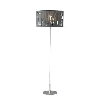 Herstal - Grass Floor Lamp Smoke Chrome, Smoky Finish 14087270165