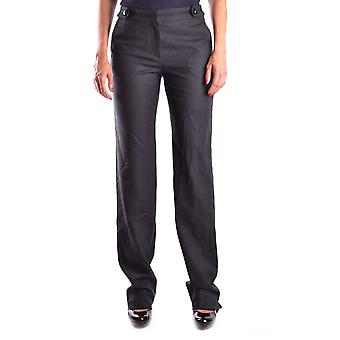 Armani Collezioni Ezbc049088 Women's Grey Wool Pants
