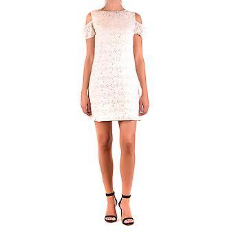 Robe Blugirl Blumarine Ezbc103033 Women-apos;s White Cotton Dress