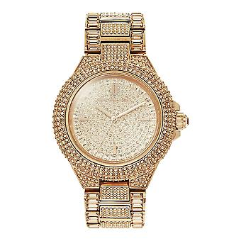 Michael Kors Watches Mk5862 Glitz Camille Rose Gold Stainless Steel Ladies Watch