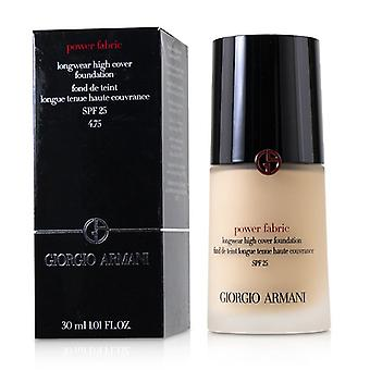 Giorgio Armani Power kangas Longwear High Cover säätiö SPF 25-# 4,75-30ml/1.01 oz