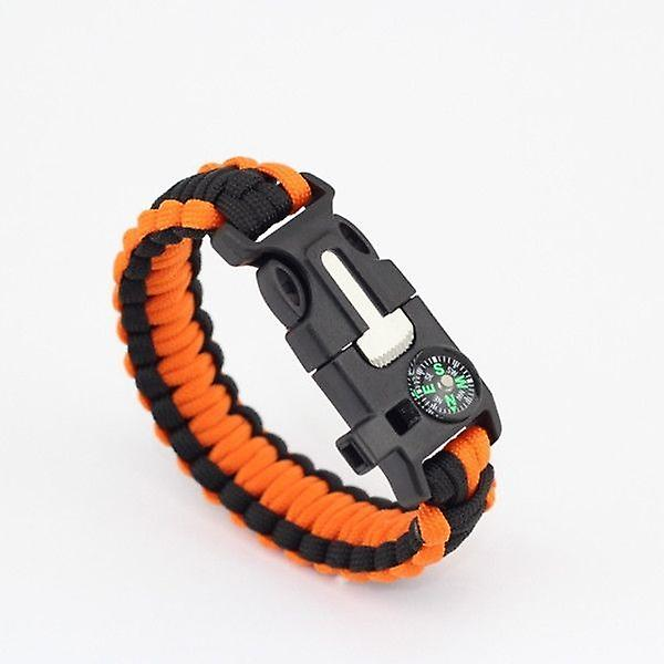 2 Pack Outdoor Survival Outdoor Bracelet