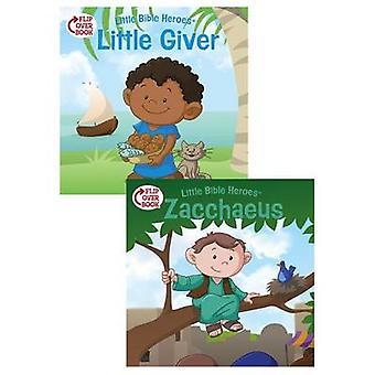 The Little Giver/Zacchaeus Flip-Over Book by Victoria Kovacs - David