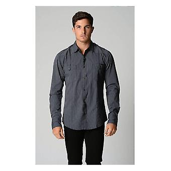 Deacon Basso streep shirt met lange mouwen