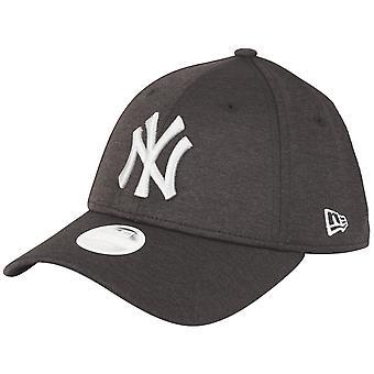 New Era Women's 9Forty Cap-SHADOW New York Yankees Black