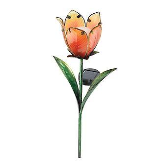 Regal Garden Decor Solar Tulip Stake