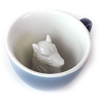 Creature Cups Wolf Ceramic Mug