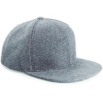 Beechfield - Melton Wool Snapback Cap Hat