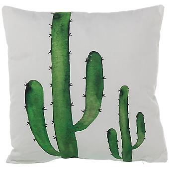 Wellindal 350g cactus pad 45x45cm zippered (Decoration , Cushions)
