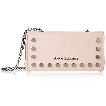 ARMANI EXCHANGE Stud Chain Wallet - Women Rosa wristbags (Under The Skin) 10.5x3x19 cm (B x H T)