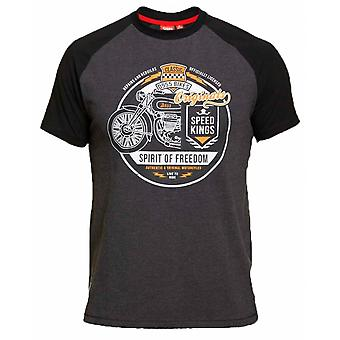 DUKE Duke Fashion Bike Print T Shirt
