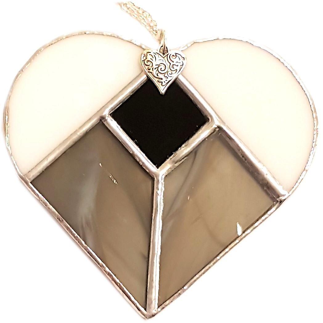 Simmerdim Design Five Section Heart Grey