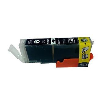 CLI-651XL zwart compatibele inkjetcartridge