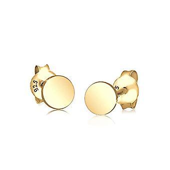 Goldhimmel Women's Pin Earrings in Silver 925 - Gold