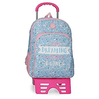 Roll Road Dreaming Backpack 44.6000000000000001 Blue (Azul)