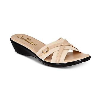 Callisto Womens Babcock Open Toe Casual Platform Sandals
