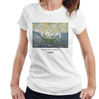 A. P. O. H Munch Momento Mori kvinder ' s T-shirt