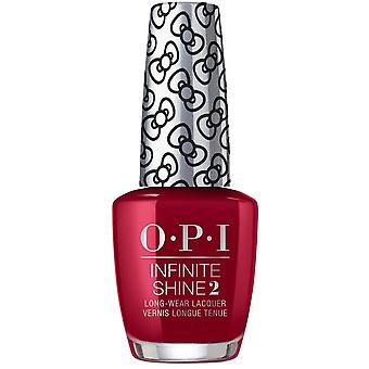 OPI Infinite Shine een kus op de chique-Hello Kitty 2019 kerst nagellak collectie (ISLU36) 15ml