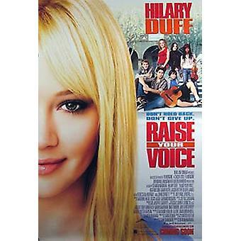 Alza la tua voce (doppio lato regolare) Poster originale del cinema