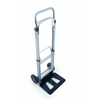 Charles Bentley 90 KG Folding Sack Truck Lightweight Stainless Steel telescopic