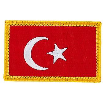 التصحيح Ecusson Brode العلم التركية التركية ثيرموكولانت Blason