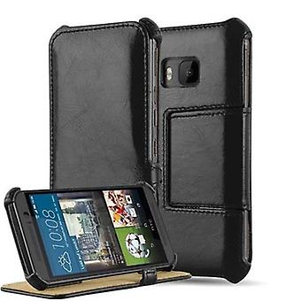 Cadorabo Case for HTC ONE ONE M9 Case Cover - Phone Case WITHOUT Magnetic Closure with Stand Function and Corner Mount - Hard Case Book Case Cover Case Cover