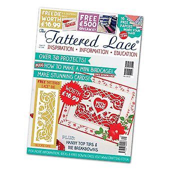 Magazine dentelle lambeaux, mulitcolore