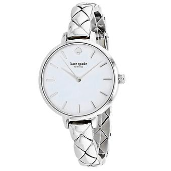Kate Spade Women's Metro White Mother of Pearl Dial Watch - KSW1465