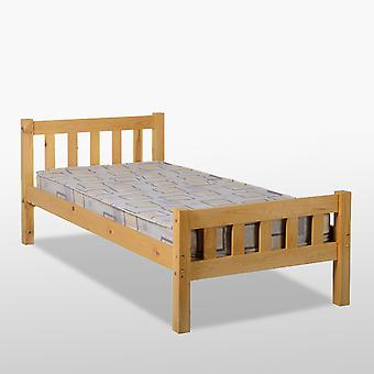 Carlow Bed - Antique Pine
