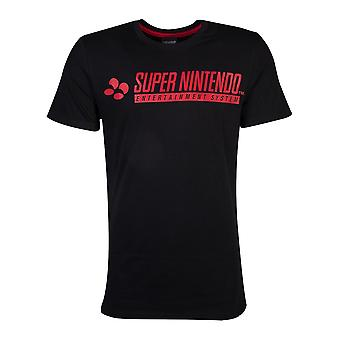 T-shirt officiel Super Nintendo Men-apos;s