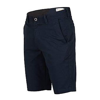 Volcom Men's Frickin Modern Stretch Chino Short, Dark Navy,, Dark Navy, Size 28