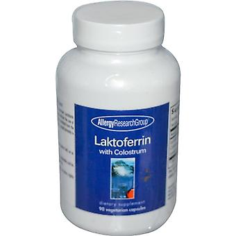 Laktoferrin with Colostrum 90 Veggie Caps - Allergy Research Group