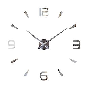 DIY Wall Watch-sølv