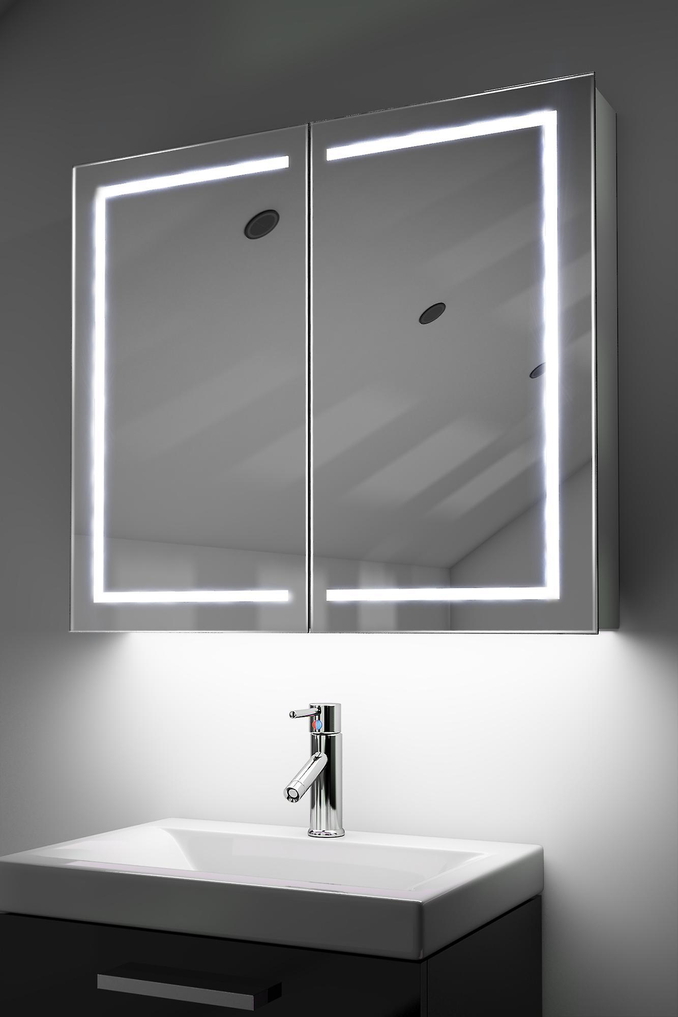 Demist Cabinet With RGB , Sensor & Internal Shaver k368rgb