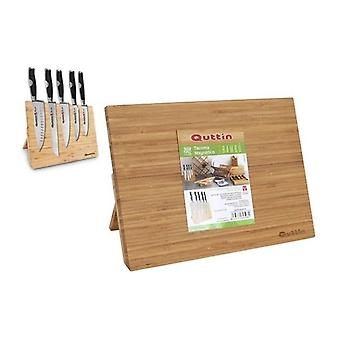 Magnetic Stand for Knives Bamboo (34 X 25 x 1,7cm)