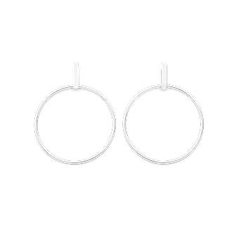 Rosefield JHBES-J073 Earrings - Iggy Rings Laiton Bar Collection