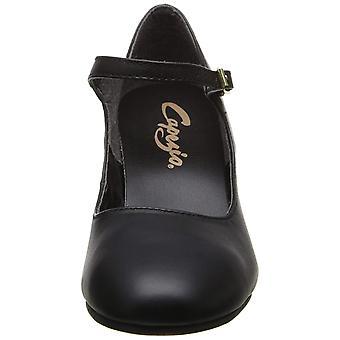 Capezio Womens Manhattan Leather Low Top Buckle Ballet & Dance Shoes