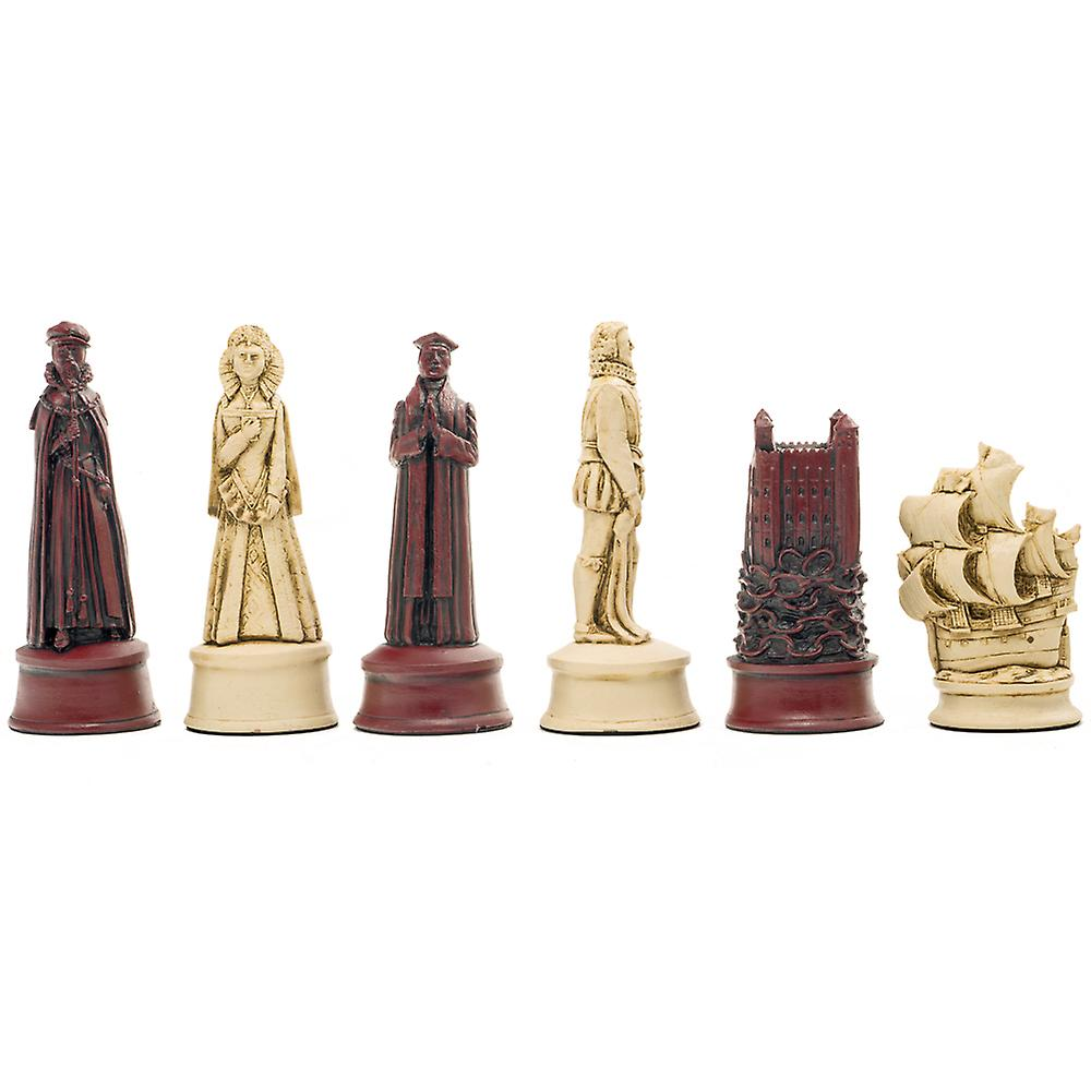 Berkeley Chess Elizabethan Cardinal Chess Men