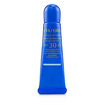 Shiseido Uv Lip Color Splash Spf 30 (sehr wasserdicht) - ' Tahiti Blau 10ml/0.34oz