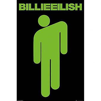 Billie Eilish Poster Stickman 240
