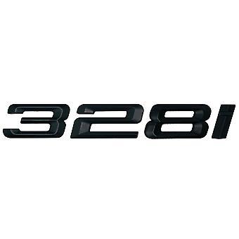 Matt Black BMW 328i Car Model Rear Boot Number Letter Sticker Decal Badge Emblem For 3 Series E36 E46 E90 E91 E92 E93 F30 F31 F34 G20