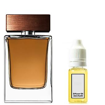 D&G The One For Him Inspired Fragrance 100ml Refill Essential Diffuser Oil Burner Scent Diffuser