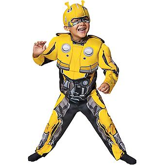 Transformers Bumblebee Muscle Toddler Costume