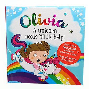 Geschichte & Heraldik magischen Namen Storybook - Olivia