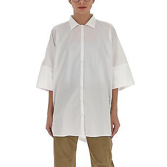 Gentry Portofino D221sig0001 Women's White Cotton Shirt