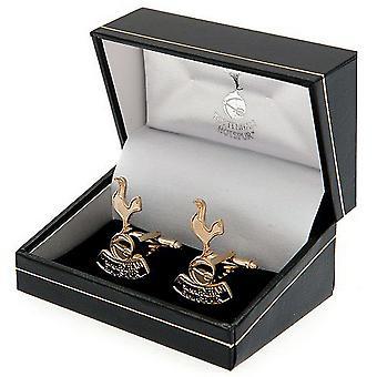 Tottenham Hotspur FC oficial gemelos chapado oro